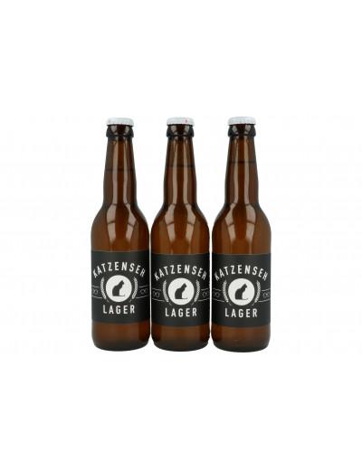 KatzenSeh Bier Lager 3x 33cl