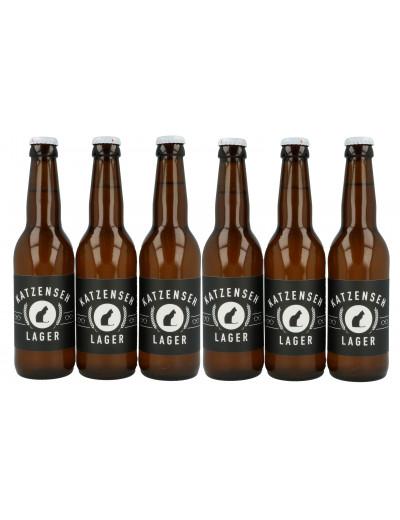 KatzenSeh Bier Lager 6x 33cl