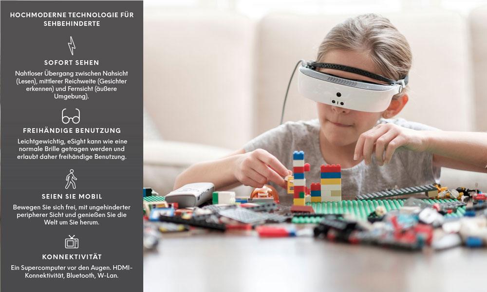 eSight Lind Lego